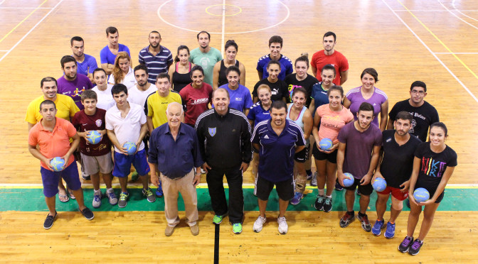 Level 1 Handball Coaching Course-IMG_1158